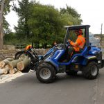 Mini loader tree removal Tickhill